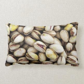 Pistachio pattern lumbar pillow