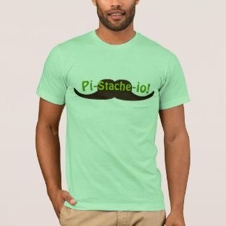 Pistachio Pi-stache-io Mustache T-Shirt