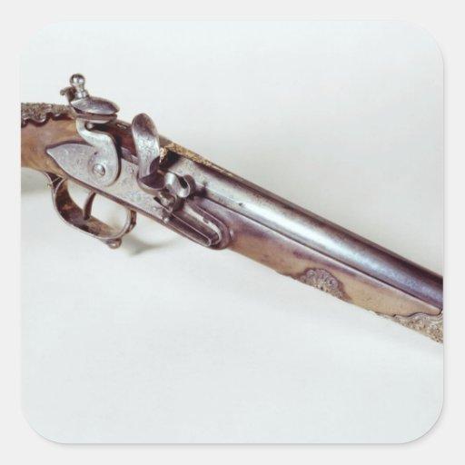 Pistol belonging to Abd el-Kader Sticker