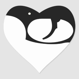 Pistol Heart Sticker