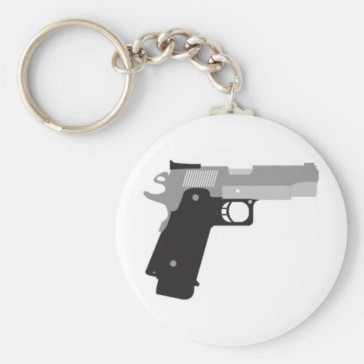 Pistol Key Chain