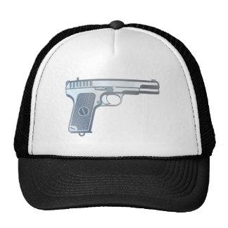 Pistol pistol gun trucker hats