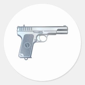 Pistol pistol gun sticker