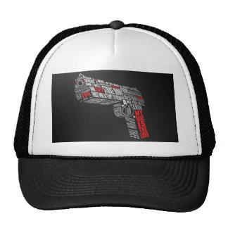 Pistol quote trucker hat