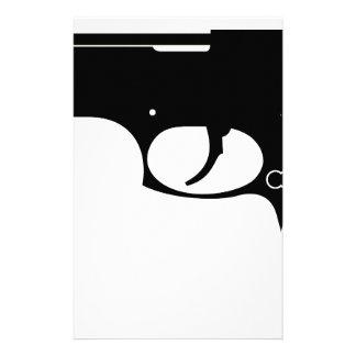 Pistol Stationery Paper