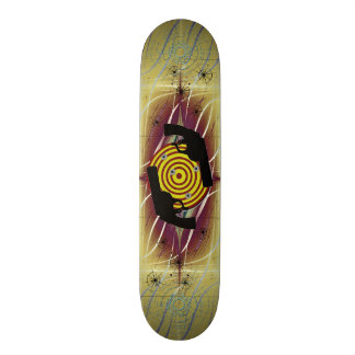 Pistol Target Skate Board