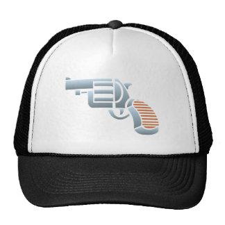 Pistole Revolver Colt pistol Baseballcaps
