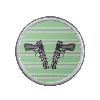 Pistols, Handgun Illustration Speaker