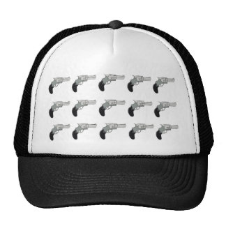 pistols mesh hats