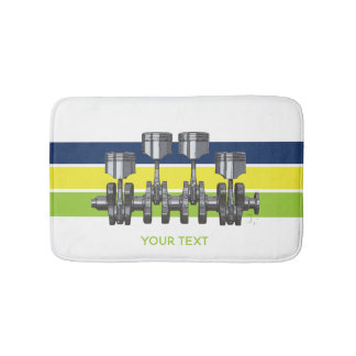 Piston Crankshaft Bath Mat