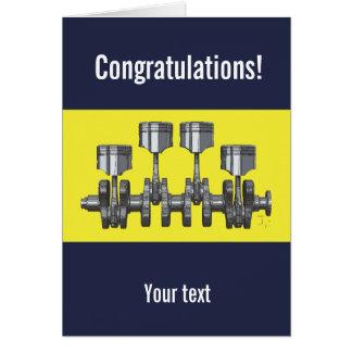 Piston Crankshaft Card