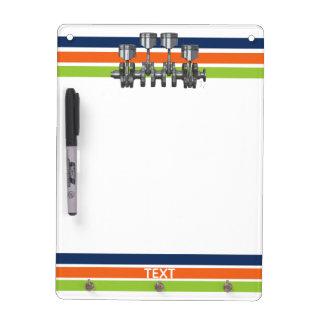 Piston Crankshaft Dry Erase Board