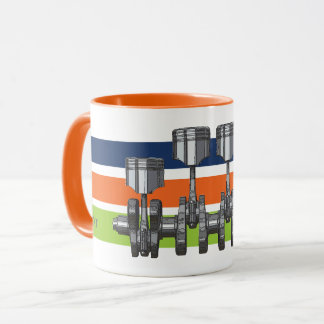 Piston Crankshaft Mug