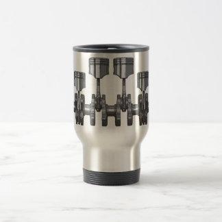 Piston Crankshaft Travel Mug