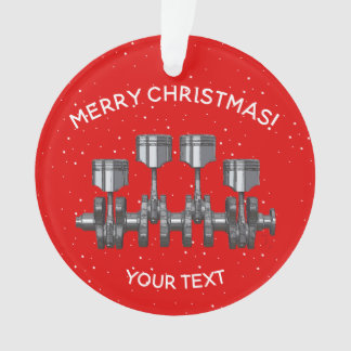 Piston Crankshaft -Turbocharger Ornament