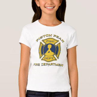 Piston Peak Fire Department Badge T-Shirt