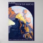 Piston Peak Railroad Illustration