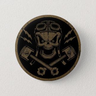 Piston Pistoff II -silver/gold 2 Inch Round Button