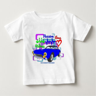 pistons passion love F250Lusso Baby T-Shirt