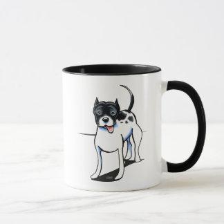 Pit Bull APBT Black White Mug