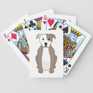 Pit Bull Bicycle Playing Cards