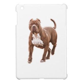 Pit bull brown iPad mini cover