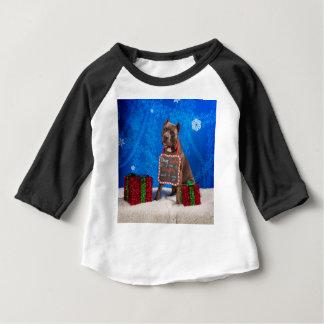 Pit-Bull Christmas Baby T-Shirt