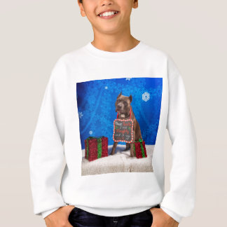 Pit-Bull Christmas Sweatshirt