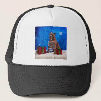Pit-Bull Christmas Trucker Hat