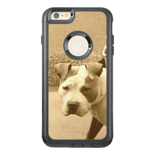 Pit Bull Dog in Sepia OtterBox iPhone 6/6s Plus Case