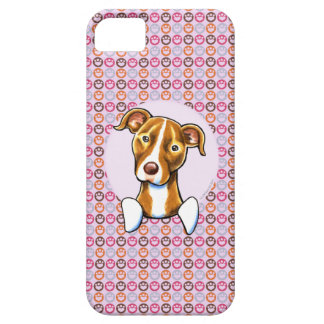 Pit Bull Girly Pink Paw Prints iPhone 5 Cases