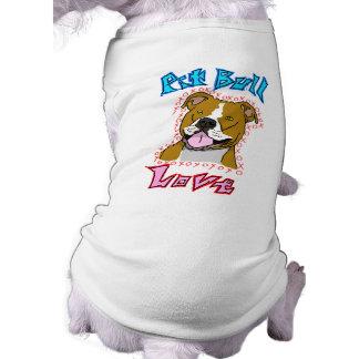 Pit Bull Love Dog Shirt