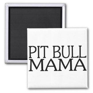 Pit Bull Mama Magnet