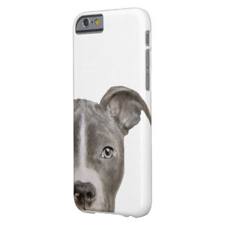 Pit bull, original painting print barely there iPhone 6 case