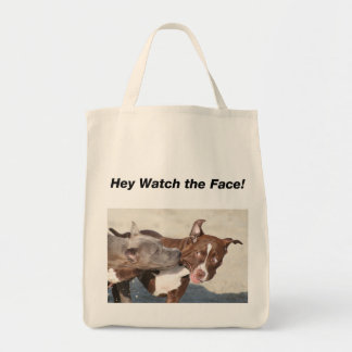 Pit Bull Puppys at Play Tote Bag