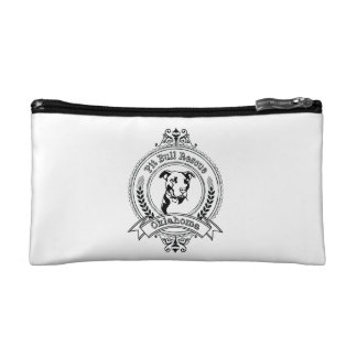 Pit Bull Rescue Small Bag Makeup Bag