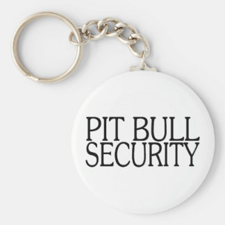 Pit Bull Security Keychains