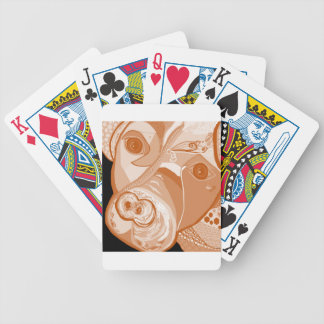 Pit Bull Sepia Tones Bicycle Playing Cards