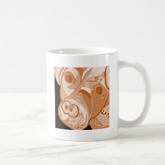 Pit Bull Sepia Tones Coffee Mug