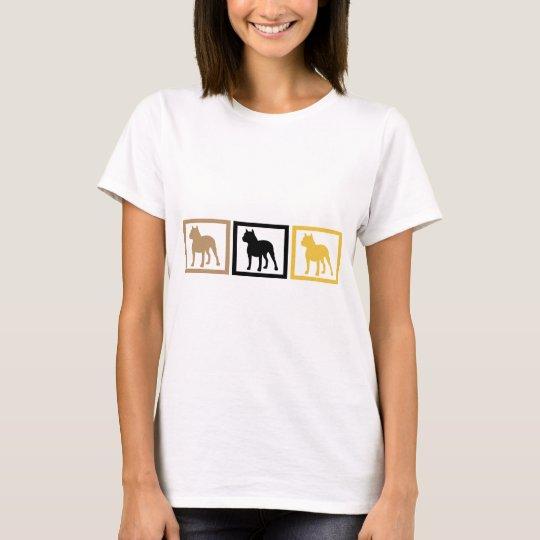 Pit Bull Squares T-Shirt