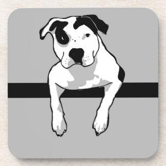 Pit Bull T-Bone Graphic Coaster