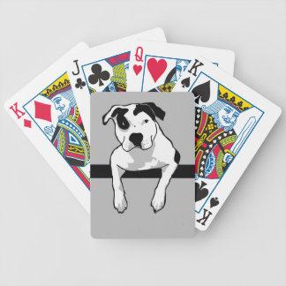 Pit Bull T-Bone Graphic Poker Deck