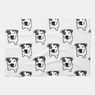 Pit Bull T-Bone Graphic Towel