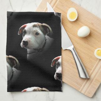 Pit Bull T-Bone Puppy Towel