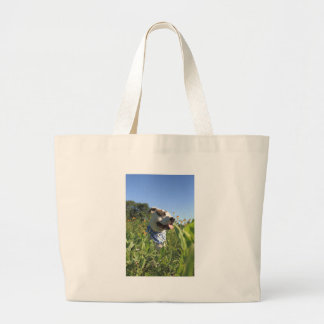 Pit Bull T-Bone Spring Large Tote Bag