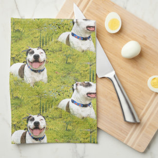 Pit Bull T-Bone Towel