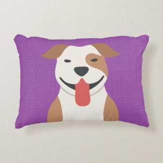 Pit Bull Terrier Reversible Accent Pillow