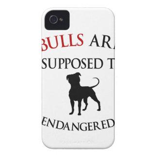 Pit bulls design cute iPhone 4 case