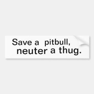 pit bumper sticker