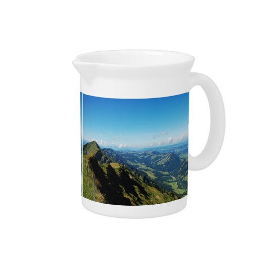 Pit Cher alps with upper baptism in the Allgäu Pitcher